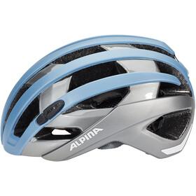 Alpina Campiglio Casque, blue-titanium